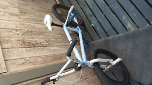 Bmx with good quality parts.
