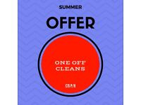 10,90p/h Great Summer Prices! Professional and Trusted Cleaners!