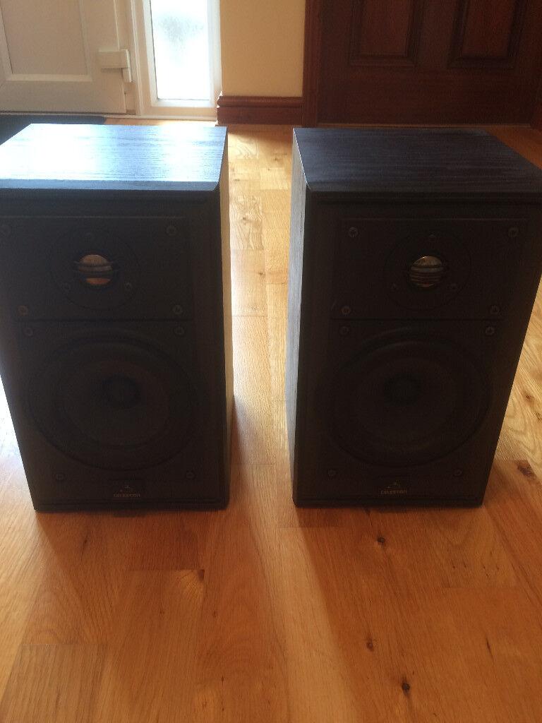 Celestion 3 Mk 2 Speakers Book Shelf 8 Ohms 10 75