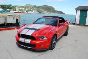 2010 Ford Mustang Shelby GT500 Convertible