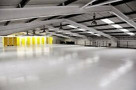 500 sq ft storage warehouse space