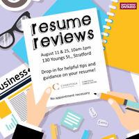FREE Resume Reviews