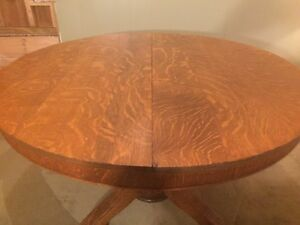 Unique Tiger Maple Antique Dining Table 900 OBO