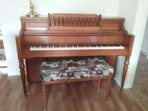 Kohler and Campbell Upright Grand Piano