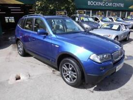 BMW X3 3.0d auto 2007 SE 4X4 DIESEL FULL LEATHER EXCELLENT SERVICE HISTORY