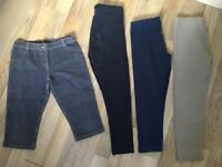 4 pairs of Girls Next Leggings age 8-9 in immaculate condition