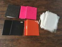 Free A4 Folders and plastic wallets