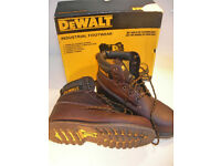 DEWALT Steel Toe Capped Work Boots Size 8 in Box VGC (WH_0893)