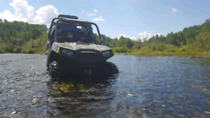 Rzr 570 eps 4000 km incluant le trailer 9000 $