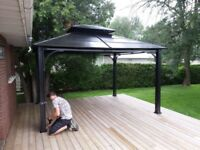 Looking for person to assemble gazebo