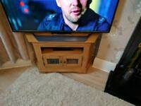 Oak TV unit free delivery