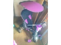 5 in 1 purple smart trike
