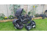 Double pushchair- Graco
