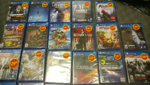 Playstation 4 game cases