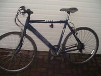 Cross Large Lightweight Hybrid Bike 22 Inch frame.