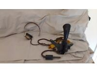 2 X telephone operator mouth piece and headset