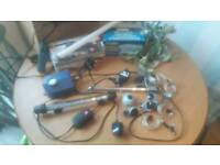 Fish tank accessorie set