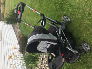 Sit and Stand stroller - Harrowsmith