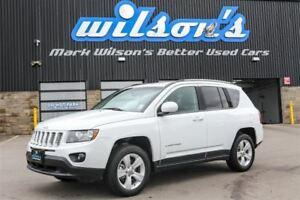 2016 Jeep Compass NORTH 4X4! BLUETOOTH! $72/WK, 5.49% ZERO DOWN!