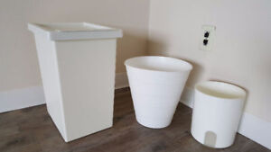 IKEA trash bin set of 3