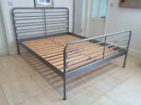 IKEA Metal King Sized Bed Frame