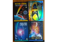 STAR TREK collection 4 DVDs