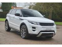 Land Rover Range Rover Evoque SD4 DYNAMIC (white) 2011-12-14