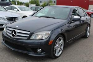 2009 MERCEDES-BENZ C350 4MATIC/AWD, PREMIUM PACK, CLEAN CARPROOF