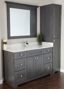 Kitchen Cabinetry , Vanities and Quartz counter tops available