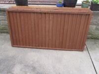 5 Fence Panels - Unused/Like New