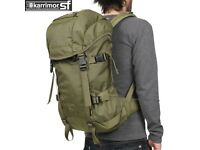 Karrimor Sabre 30 Khaki green army olive backpack rucksack used
