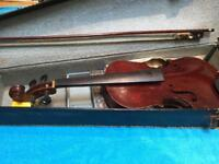 Violin in need of service