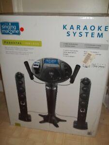 Karaoke system the singing machine 250$