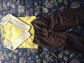 Brownie uniform, top and combat trousers
