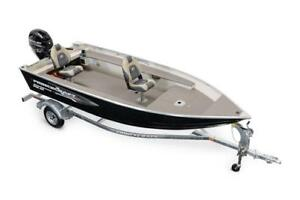Princecraft Resorter DLX BT 16' Aluminum Fishing Boat