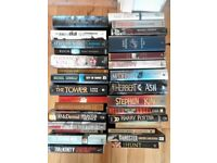 Selling large book collection, all offers considered....
