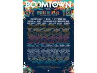 Boomtown 2017 ticket + Eco Bond