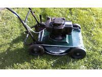Lawn mower Hayterette with Tecumseh BVS143 with new con rod and head gasket