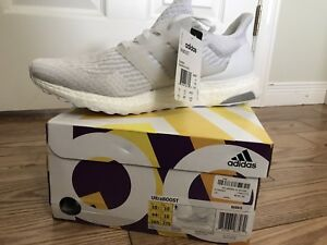 Adidas Ultra Boost - 100% Authentic, Size 10.5 US, Triple White