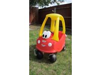 Little tykes cozy coupe - hours of fun in this classic ride on