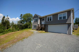 Five Year New Split Entry with Double Garage In Upper Sackville