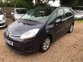 Citroen Grand C4 Picasso Diesel 1.6 HDi 16v VTR+,7 Seats,CAMBELT DONE!!,Fresh 12 month MOT,Clean car