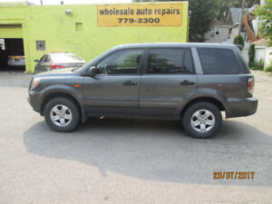 2007 Honda Pilot NEW SAFETY AND WARRANTY SUV, 8 passenger
