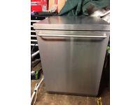 Siemens stainless steel dishwasher (almost brand new)