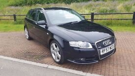 2008 AUDI A4 2.0TDI AVANT SLINE AUTO ESTATE 94K PX WELCOME