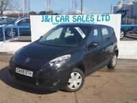 RENAULT SCENIC 1.5 EXPRESSION DCI 5d 105 BHP A LOW PRICED DIESEL (black) 2010