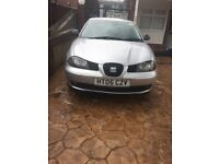 Seat Ibiza 3dr lovly to drive, good on petrol , YEARS MOT