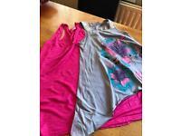 Girls Vest tops 9-10