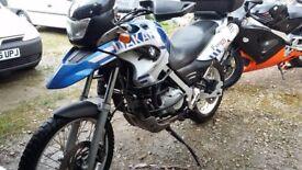 BMW F 650 GS DAKAR...not Suzuki/Aprilia /Honda / Ducati