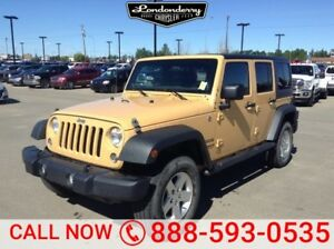 2014 Jeep Wrangler Unlimited 4WD UNLIMITED SPORT Accident Free,